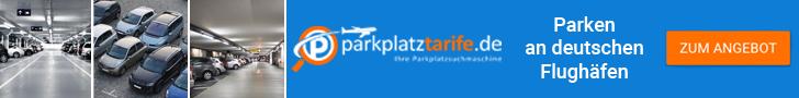 Flughafenparkplatz