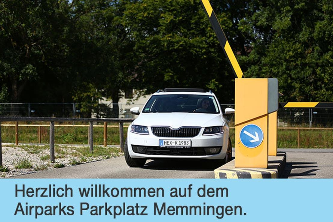airparks parkplatz flughafen memmingen. Black Bedroom Furniture Sets. Home Design Ideas