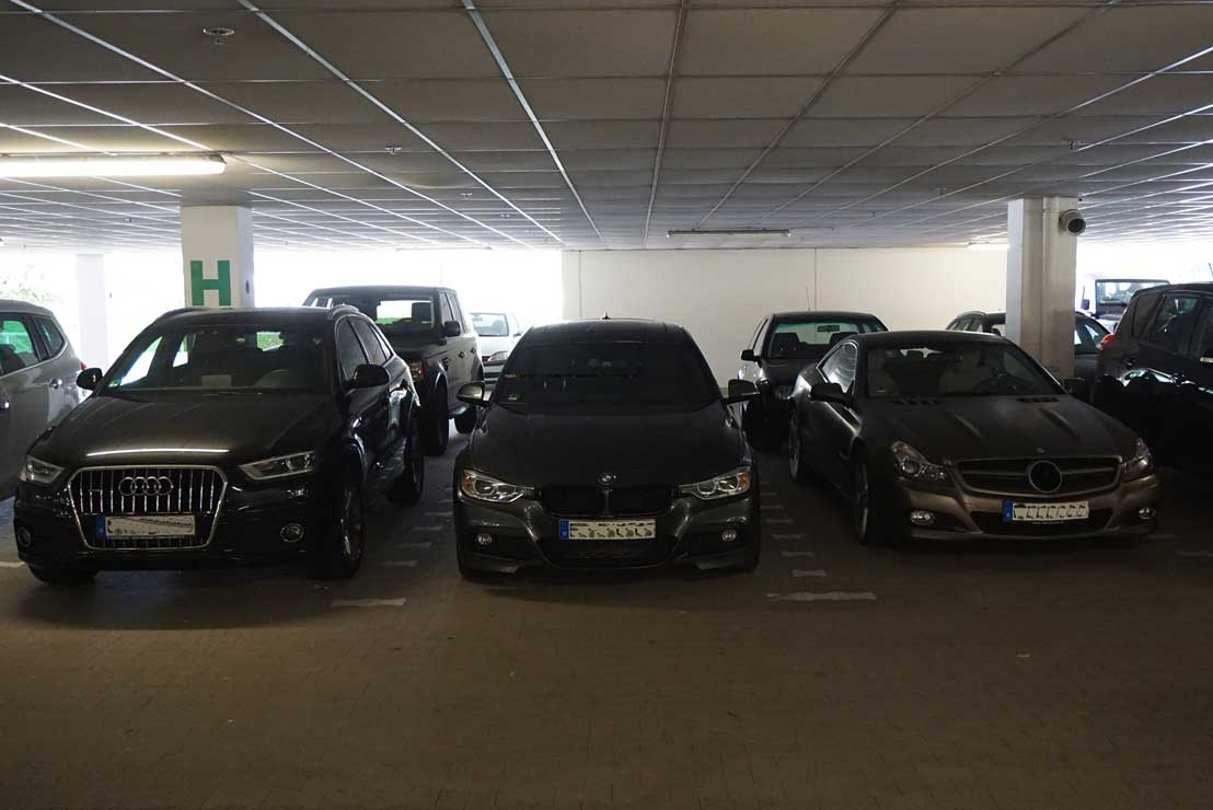 airport parking stuttgart garage valet service